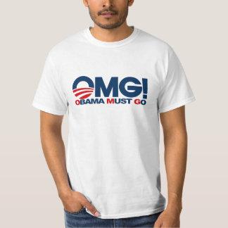 OMG! - Obama Must Go T-Shirt