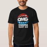 omg obama must go tee shirt