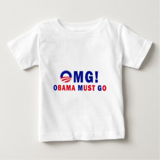 OMG! Obama Must Go! Tee Shirt