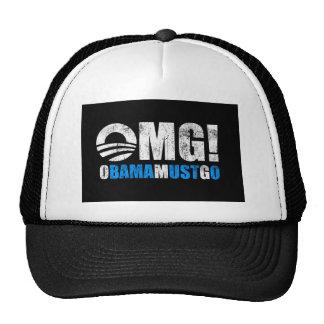 omg obama must go trucker hat