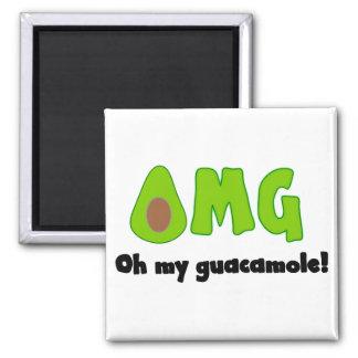 OMG oh mi Guacamole - imán divertido del