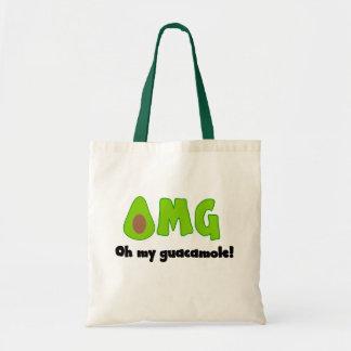 OMG oh mi Guacamole - la bolsa de asas divertida