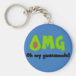 OMG oh mi Guacamole - llavero divertido