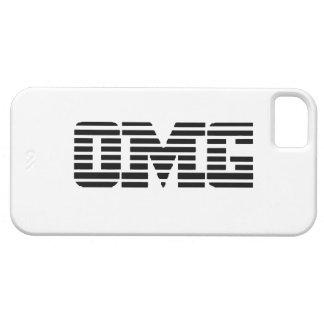 OMG oh mi logotipo de la parodia de dios iPhone 5 Carcasas