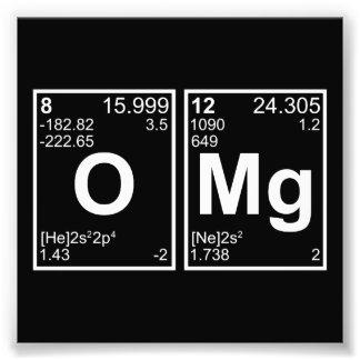 OMG oh mis elementos de tabla periódica de dios Cojinete