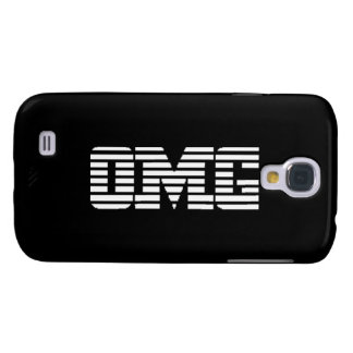 OMG Oh My God Parody Logo Samsung Galaxy S4 Case
