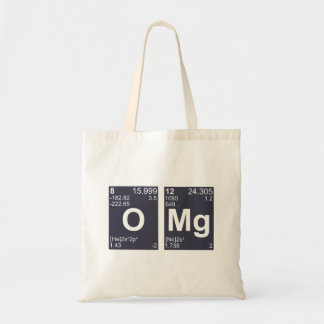 OMG Oh My God Periodic Table Elements Tote Bag