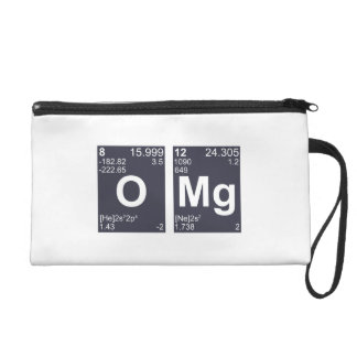 OMG Oh My God Periodic Table Elements Wristlet