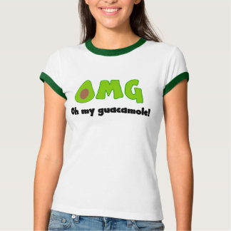 OMG Oh My Guacamole - Funny Food Shirt