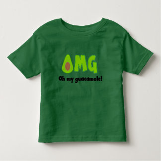 OMG Oh My Guacamole - Funny Food Tee for Toddlers