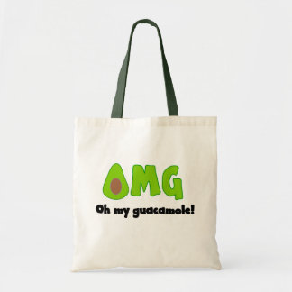 OMG Oh My Guacamole - Funny Tote Bag