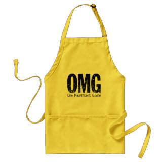 OMG: One Magnificent Goalie (Hockey) Adult Apron