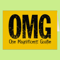 OMG: One Magnificent Goalie (Hockey) Card