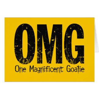 OMG: One Magnificent Goalie (Hockey) Card
