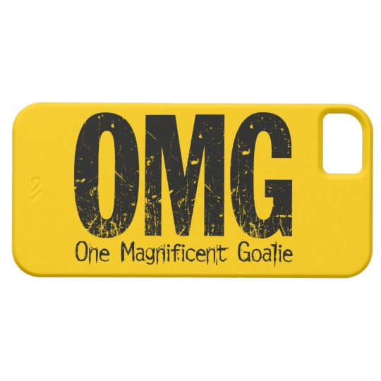 OMG: One Magnificent Goalie (Hockey) iPhone SE/5/5s Case