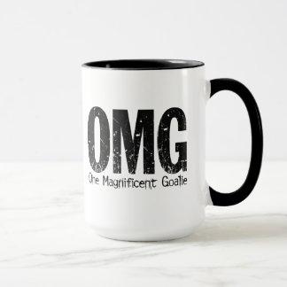 OMG: One Magnificent Goalie (Hockey) Mug