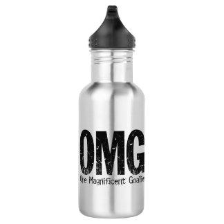 OMG: One Magnificent Goalie 18oz Water Bottle