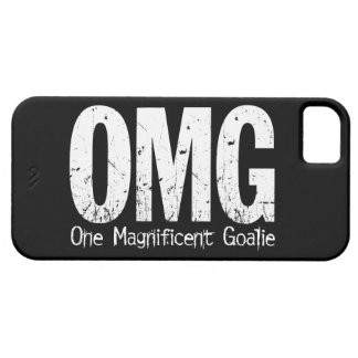 OMG: One Magnificent Goalie (Soccer) iPhone SE/5/5s Case