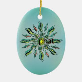 OMG! phat Ceramic Ornament