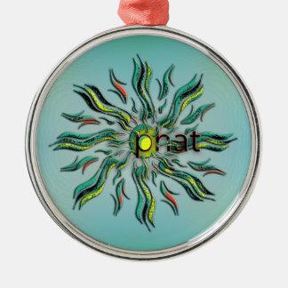 OMG! phat Metal Ornament