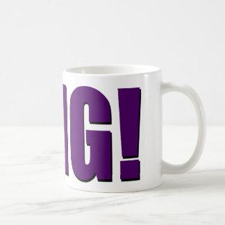OMG! purple Mugs