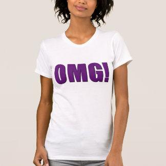 OMG! purple T Shirt