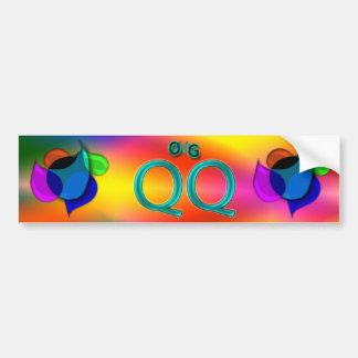 OMG! qq Bumper Sticker