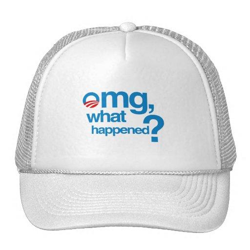 Omg qué sucedió gorra