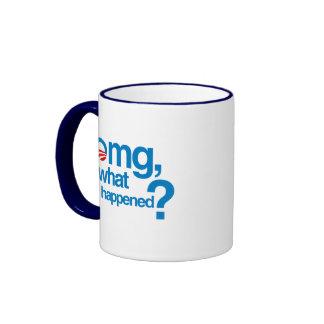 Omg qué sucedió tazas de café