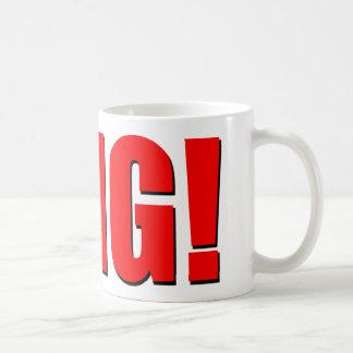OMG! red Classic White Coffee Mug