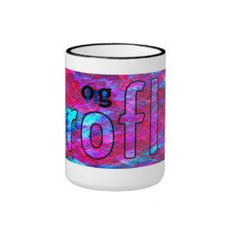 OMG! rofl Ringer Coffee Mug