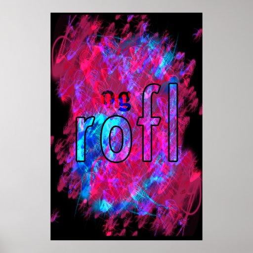 ¡OMG! rofl Póster