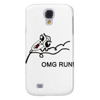 OMG run! - meme Samsung Galaxy S4 Case