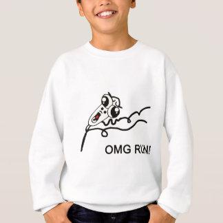 OMG run! - meme Sweatshirt