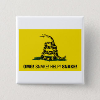 OMG! Snake! Button