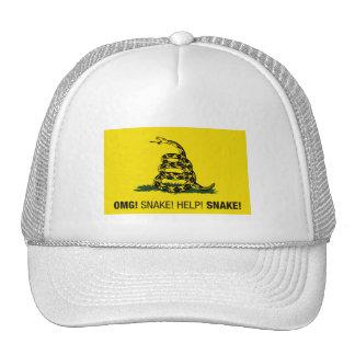 OMG! Snake! Help! Snake! Trucker Hat