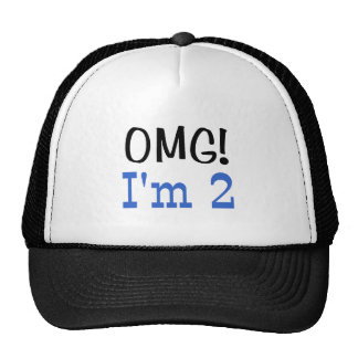 OMG soy 2 (el azul) Gorras