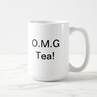 omg tea basic white mug