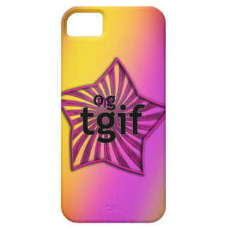 OMG! tgif iPhone SE/5/5s Case