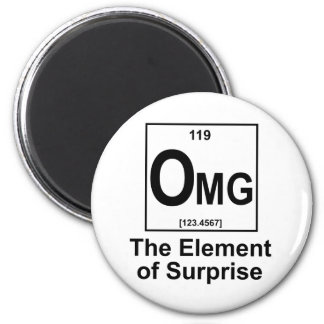 OMG The Element os Surprise 2 Inch Round Magnet