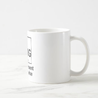 OMG The Element os Surprise Coffee Mug