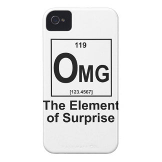 OMG The Element os Surprise iPhone 4 Cover