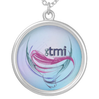 OMG! tmi Silver Plated Necklace