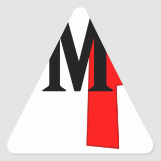 omg triangle sticker