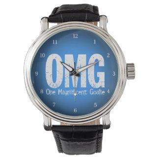 OMG: Un portero magnífico (hockey) Relojes De Pulsera