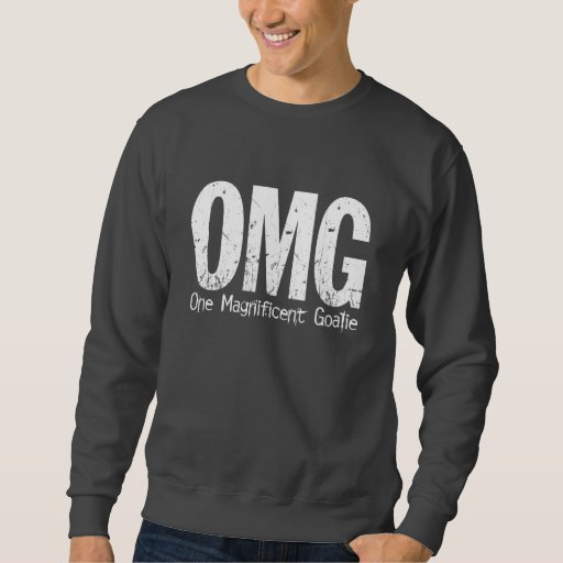 OMG: Un portero magnífico (hockey) Suéter