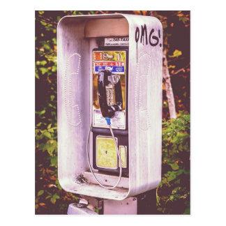 ¡OMG! Una postal del teléfono de pago