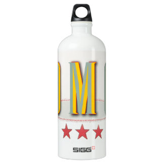 OMG . . . vintage styled graphic expression Water Bottle