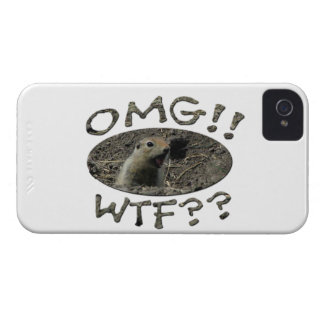 OMG WTF Gopher iPhone 4 Cover