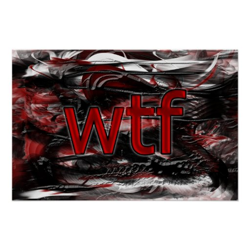 ¡OMG! wtf Poster